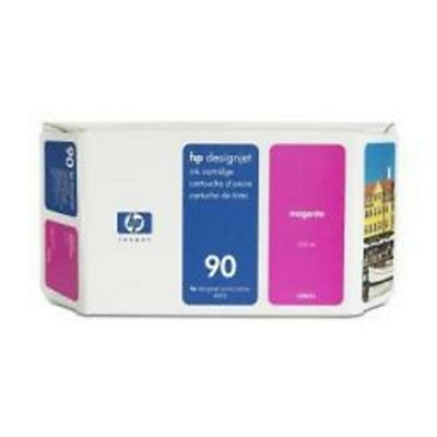 HP , Materiale di consumo, Cartuccia ink n.90 magenta400 ml, C5063A
