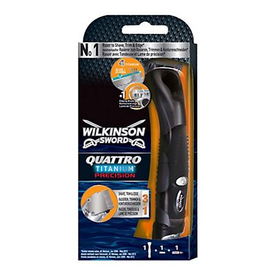 Wilkinson Sword Sistema Rasoio Quattro Titanium Precision For Men