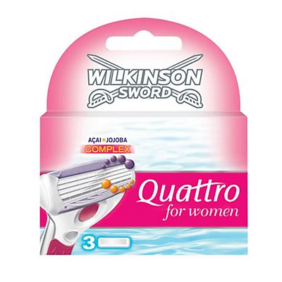 Wilkinson Sword Lame ricambio  Quattro For Women