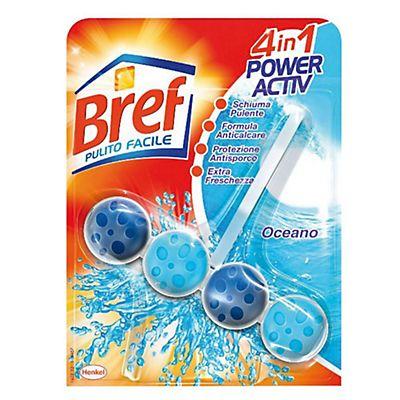 BREF Pulito Facile Igienizzante per il Bagno 4 in 1 Power Activ ...
