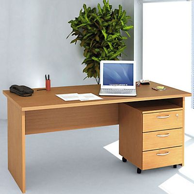 set arredo pronto pack a scrivania 160 cm cassettiera 3 ForScrivania Arredo