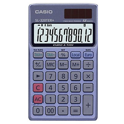 Casio Calcolatrice pocket SL-320TER