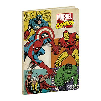 QUO VADIS Taccuino a righe Marvel Comics, f.to 15 x 21 cm, 96 pagine