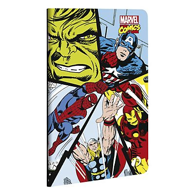 QUO VADIS Taccuino a righe Marvel Comics, f.to 7,5 x 12 cm, 48 pagine