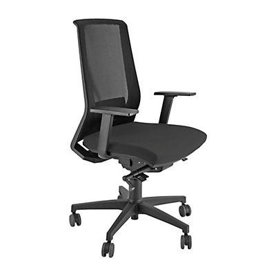 Unisit sedia semidirezionale melody con braccioli e ruote - Sedia con ruote ...
