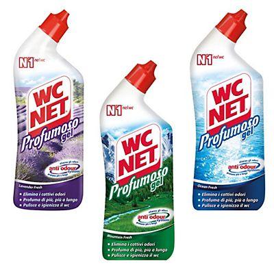 Wc net detergente wc profumoso gel flacone 700 ml staples for Wc net fosse biologiche prezzo