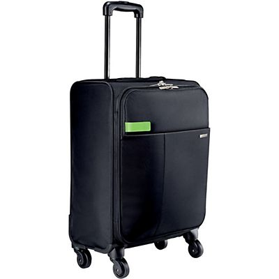 Leitz Complete Carry-On Smart Traveller Trolley a 4 ruote Nero