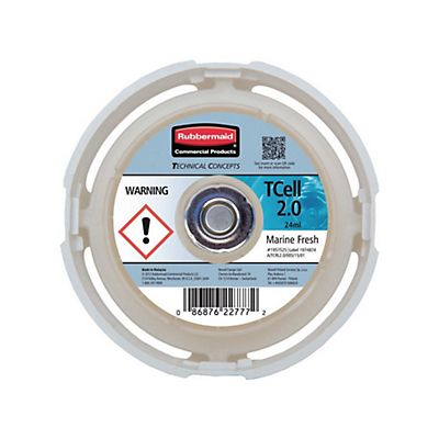 Rubbermaid Commercial Products TCell™ Ricarica di fragranza Marine Fresh<BR>