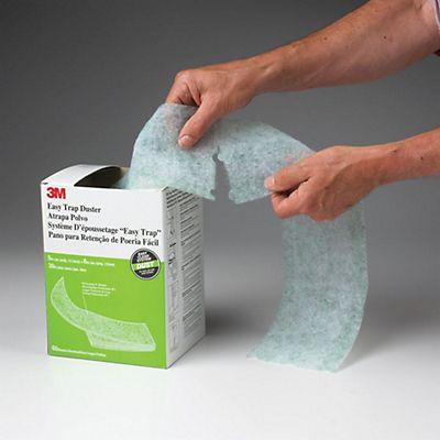 Cattura Polvere Fai Da Te.3m Easy Trap Duster Rotolo Panni Pretagliati Cattura Polvere
