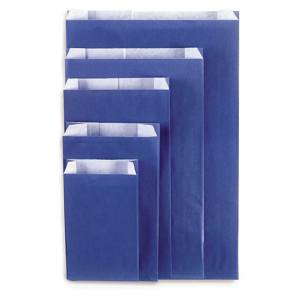 Sobre para regalo kraft colores vivos azul 12x19x4.5cm