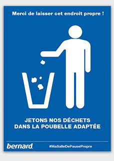 Affiche Gratuite Gardez La Salle De Pause Propre à