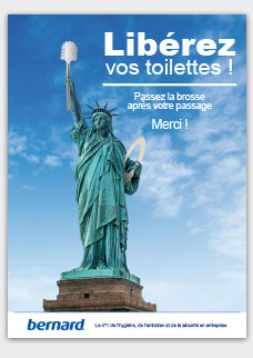 Affiche Gratuite Gardez Les Toilettes Propre à