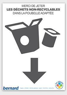 affiches gratuites sacs poubelle et tri s lectif. Black Bedroom Furniture Sets. Home Design Ideas