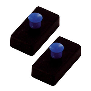 10 aimants rectangle 27 x 14 mm