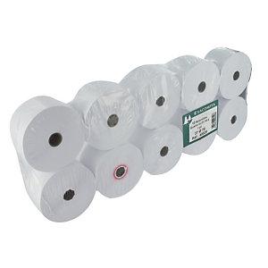 10 bobines papier pour calculatrices l. 57 mm x L. 6,5 m, sans mandrin