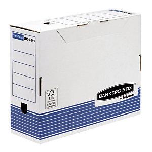 10 boîtes archives automatiques Fellowes Dos 10 cm