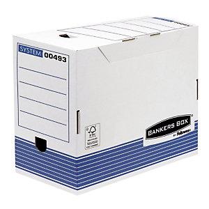 10 boîtes archives automatiques Fellowes Dos 20 cm