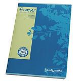 10 cahiers reliure piquée 96 pages 5 x 5 format A4 Forever coloris assortis, le lot