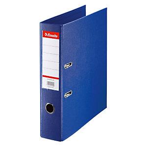 10 classeurs à levier dos 5 cm Esselte coloris bleu