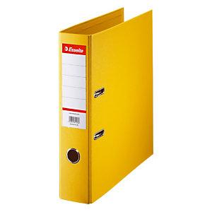 10 classeurs à levier Esselte coloris jaune