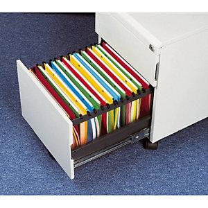 10 dossiers en polypropylène fond V  Esselte pour tiroirs coloris assortis