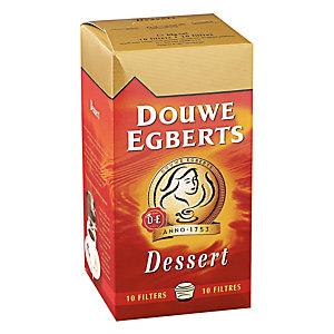 10 filterkoffie Douwe Egberts dessert