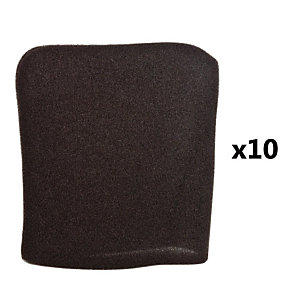 10 filtres mousse pour aspirateur EWT CS4 Comfort