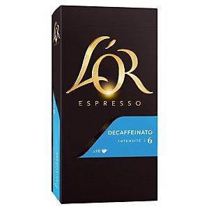 10 koffie capsules L'Or EspressO Decaffeinato