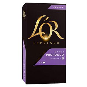 10 koffie capsules L'Or EspressO Lungo Profondo