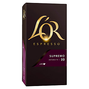 10 koffie capsules L'Or EspressO Supremo