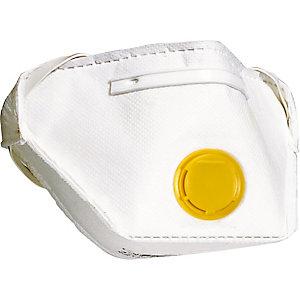 10 masques pliables de protection FFP2 avec soupape, DeltaPlus