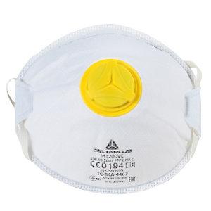 10 masques de protection FFP2 avec soupape, DeltaPlus