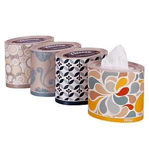 10 ovale doosjes van 64 zakdoeken Kleenex