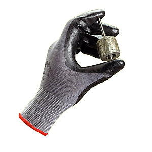 10 paar Ultrane nitril handschoenen zonder noppen voor nauwkeurige verrichtingen in vuile en vette omgevingen, maat 10