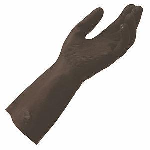 10 paires de gants protection chimique en néoprène Technic 401 Mapa, taille 9