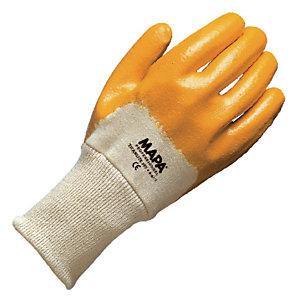 10 paires de gants pour travaux de manutention lourde Titanlite 397 Mapa, taille 7