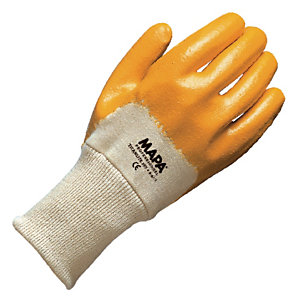 10 paires de gants pour travaux de manutention lourde Titanlite 397 Mapa, taille 8
