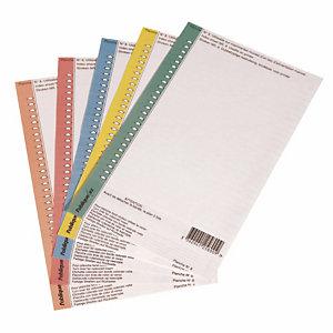 10 planches de 25 étiquettes n°8 standard 1er prix pour dossier suspendu version armoire