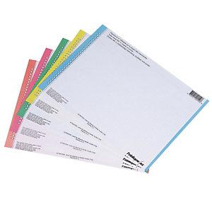 10 planches de 30 étiquettes n°9 standard pour dossier suspendu version tiroir