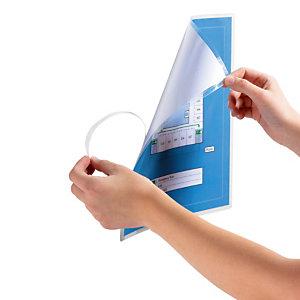 10 pochettes de plastification manuelles format A4 dos adhésif Durable, le lot