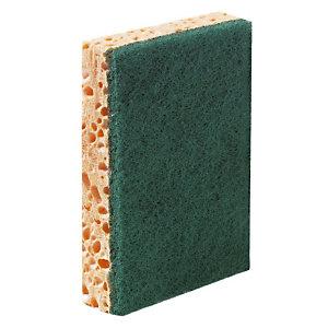 10 professionnele groene sponzen Bernard, 13 x 9 x 2,8 cm