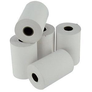 10 rollen thermisch papier voor bankkaart B.57 mm x l. 24 m, 1 laag