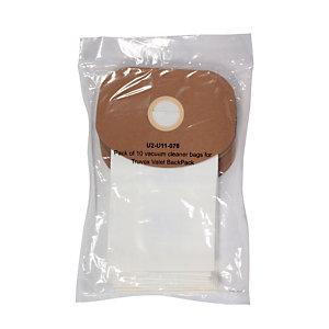 10 sacs papier3 L pour aspirateur dorsal ICA SPC