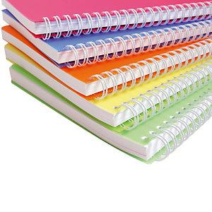 10 schriften Linicolor Fresh 100 pagina's Clairefontaine Liniëring 5 x 5 geassorteerde zuurtjeskleuren, per set