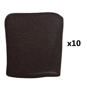 10 schuimfilters voor stofzuiger EWT CS4 Comfort