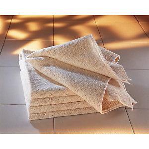 10 serpillières polonaises 70 x 70 cm