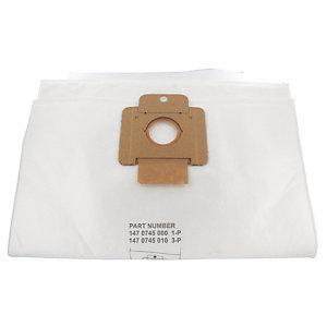 10 zakken in microvezel voor stofzuigers ICA