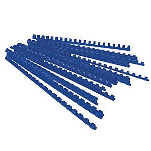 100 baguettes à relier diamètre 10 mm coloris bleu
