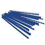 100 baguettes à relier diamètre 8 mm coloris bleu##100 blauwe inbindingen diameter 8 mm