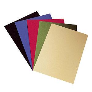 100 couvertures aspect grain cuir coloris noir